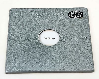M.P.P MONORAIL Lens Board - 34.5mm Hole - (Not For The Field Cameras).