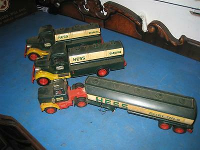 Vintage Hess Toy Truck Lot Sold As-Is  / Parts ???