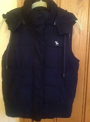 ladies abercrombie and fitch Gilet / Waistcoat Size M