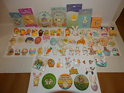 Vintage Hallmark Pins Lot of Spring Easter Lapel Pins Brooches CHOICE