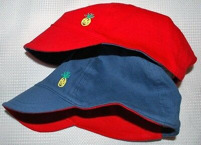 New & Tagged NEXT 2 Pack Baby Boy's Cotton Sun Hat Caps Age 12-18 Months