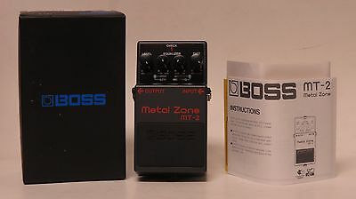 NEW Boss MT-2 Metal Zone - Guitar Effects Distortion Pedal