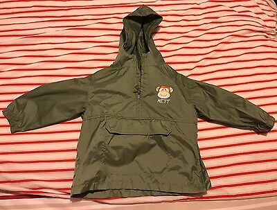 Toddlers Rain Coat / Bag Size 1.5-2 Years From Next