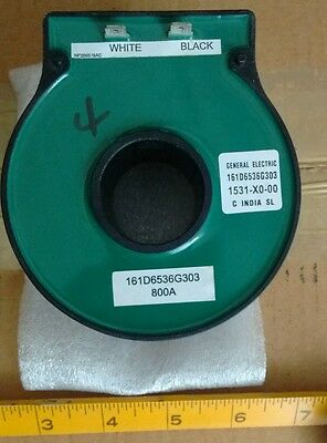 Ge General Electric 161D6536G303 1531-X0-00 Coil 800A  Current Transformer New