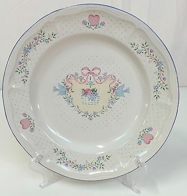 "Tienshan Stoneware COUNTRY BOUQUET 10 3/4"" in Dinner Plate~ QUANTITY AVAILABLE"