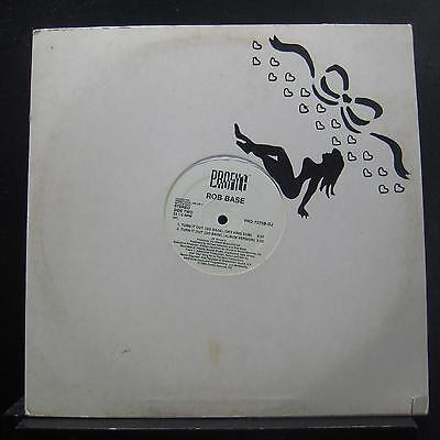 "Rob Base - Turn It Out (Go Base) 12"" VG+ PRO-7275B-DJ White Promo Vinyl Record"