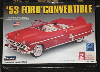 1953 Ford Convertible 1:25 Sealed Model Kit