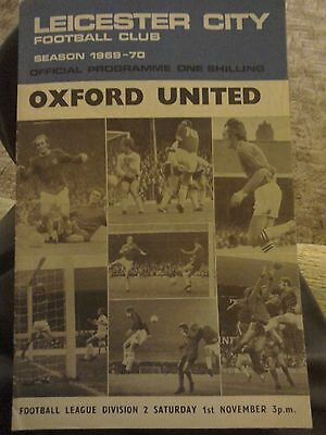 Leicester City  V  OXFORD UNITED 1/11/69