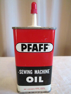 Vintage Pfaff Oval Metal Sewing Machine Handy Oiler, Oil Can.Very nice condition