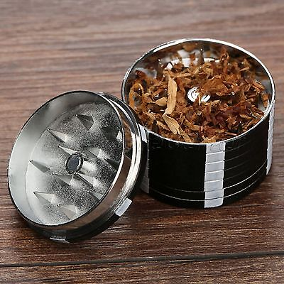 Chip 3 Layers Tobacco Herb Leaf Spice Grinder Crusher Hand Muller Smoking Tool