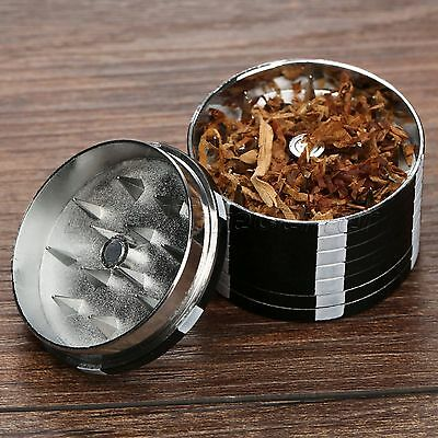 Poker Chip 3 Layers Tobacco Smoke Herb Leaf Spice Grinder Crusher Hand Muller