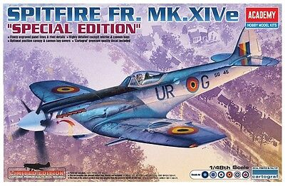 1/48 ACADEMY 1211; Supermarine Spitfire Mk.XIVe Special Edition