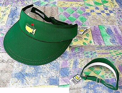 2016 Augusta National Masters Official Green TOUR VISOR