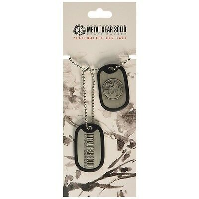 Metal Gear Solid Peacewalker Dog Tag  Brand New