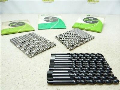 New!!! Lot Of 36 Hss Letter Drills B, C, & D Precision Twist Drill