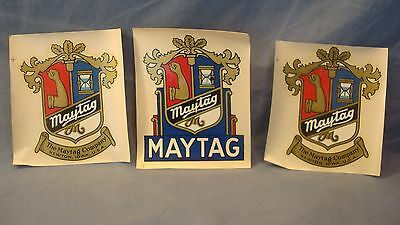 Vintage Maytag ~ Appliances ~ Washer ~ Hit And Miss Engine ~ Decals Stickers