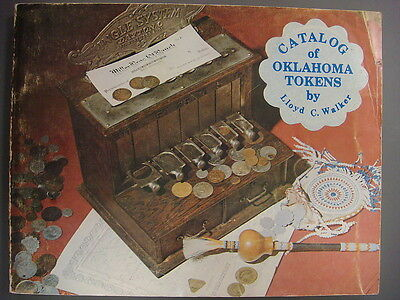 Book - Catalog of Oklahoma Tokens by Lloyd C. Walker