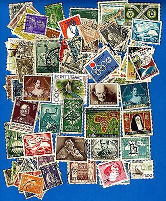 Portugal 118 Used Stamps Year 1920'-1970's LOT315