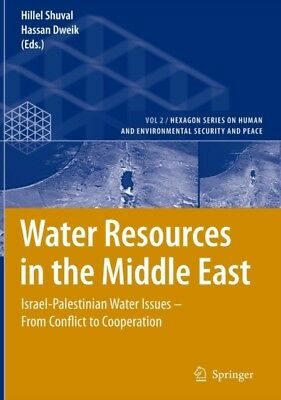 Water Resources In The Middle East, 9783540695080