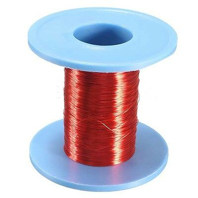 1pc 100m Red Magnet Wire 0.2mm Enameled Copper Wire Round Magnetic Coil Winding
