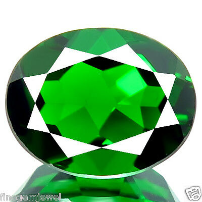 3.20ct HUGE NATURAL BEST QUALITY 5A GREEN CHROME DIOPSIDE STUNNING RUSSIAN GEM