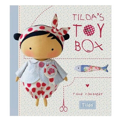 Tilda's Toy Box: Sewing patterns for soft toys Book By Tone Finnanger, NEW