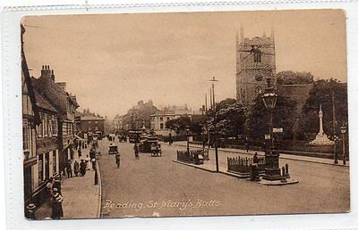 """""""""""postcard St.mary's Butts,reading,berkshire"""""""""""