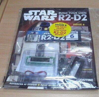 Star Wars Build the Ultimate Working R2-D2 Droid Model Magazine Partwork #6