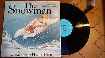 THE SNOWMAN  - WORDS AND MUSIC  HOWARD BLAKE near mint 1983 UK VINYL LP