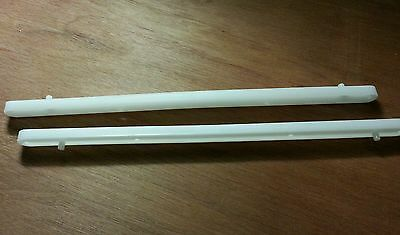 Plastic Drawer Runners White