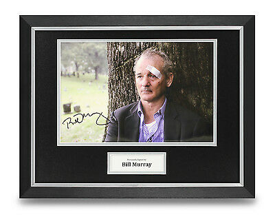 Bill Murray Signed Photo Framed 16x12 Lost in Translation Autograph Memorabilia