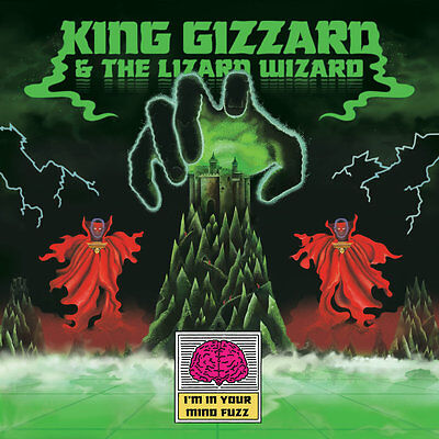King Gizzard & Lizard Wizard I'm In Your Mind Fuzz New Sealed Vinyl Lp In Stock