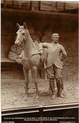 GB:1924:KEVIII:Exhibition Postcard of Prince of Wales,