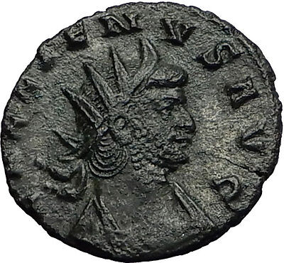 Gallienus Valerian I son 260AD Ancient  Authentic Roman Coin Liberty i58972