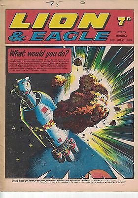 Lion & Eagle Comic - 12th July 1969