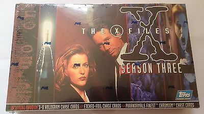The X-Files Season 3 Complete Factory Sealed Box of Trading Cards