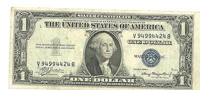 1 Dollar USA Silver Certificate 1935 A   M5(76)