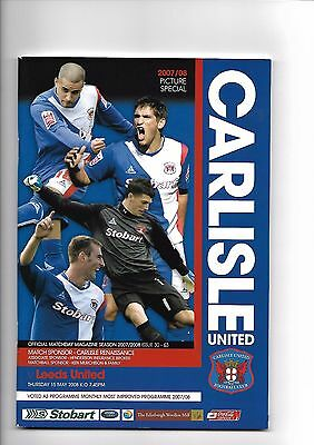 Carlisle United  v  Leeds United, 15th May 2008