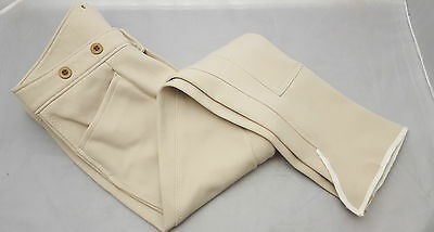 Men's Gorringe Beige Hunt/Quorn Fishtail waist Breeches Lots of sizes!