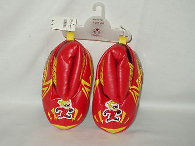 THE INCREDIBLES disney store kids DASH light up SLIPPERS  Size 9 / 10  NWT
