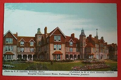 SWANLEY JUNCTION, KENT - HOSPITAL CONVALESCENT HOME PARKWOOD early postcard