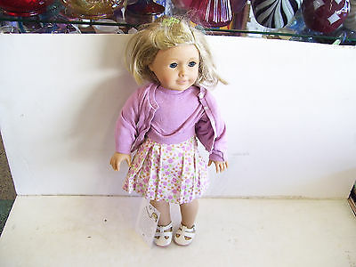 American Girl Doll--KIT--Doll And Outfit--No Box