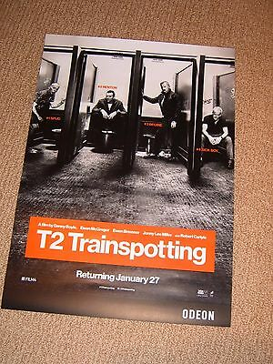 T2 Trainspotting - Odeon cinema poster - 40 x 28.5 cm - mint condition - 3 of 3