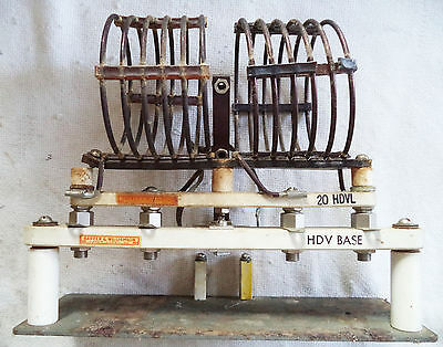 Used B&W 20 HDVL Coil on B&W HDV Base with Swinging Link (no inductor) on Plate