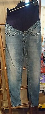 H&M Mama maternity Boy Friend Fit Jeans Size 8 Wore once