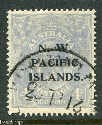 Australia N W Pacific Islands #48 SG#124  P over IS  sound used