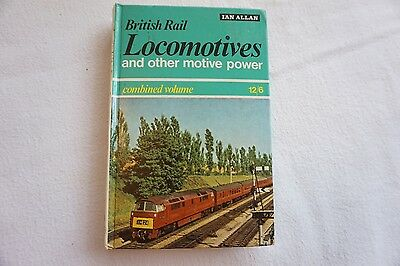 BR Locomotives Motive Power Combined Volume Book Ian Allan 1967 Unmarked
