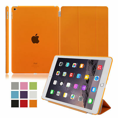 Ultra Slim Leather Smart Magnetic Stand Cover Case for Apple iPad Air