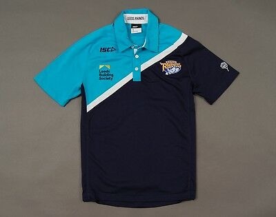 Rugby Polo Shirt Isc Leeds Rhinos Size S