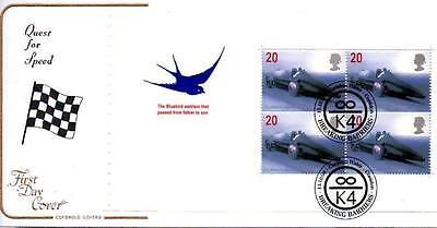 Cotswold Breaking Barriers Psb Pane Fdc 13-10-98 Coniston Water Shs F7